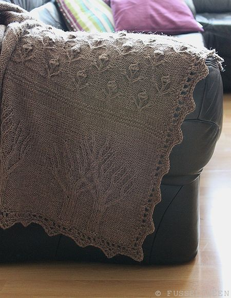 tree of life afghan sofa