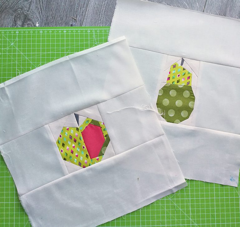 topflappen foundation paper piecing